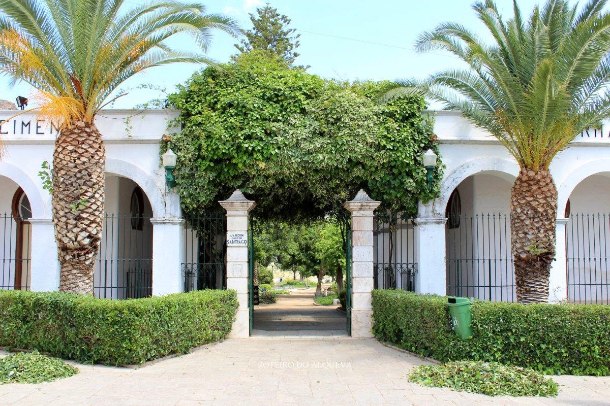 Entrada do Jardim