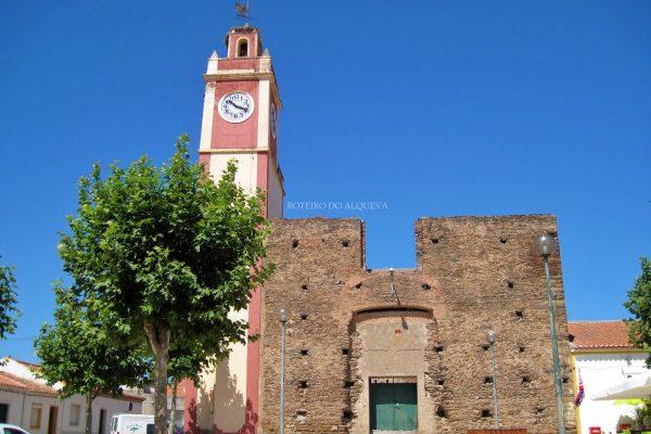 Torre do Relógio antes das obras de requalificação